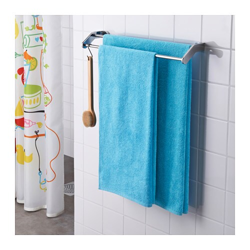 ikea hren bath sheet the long fine fibres of combed cotton create a soft and