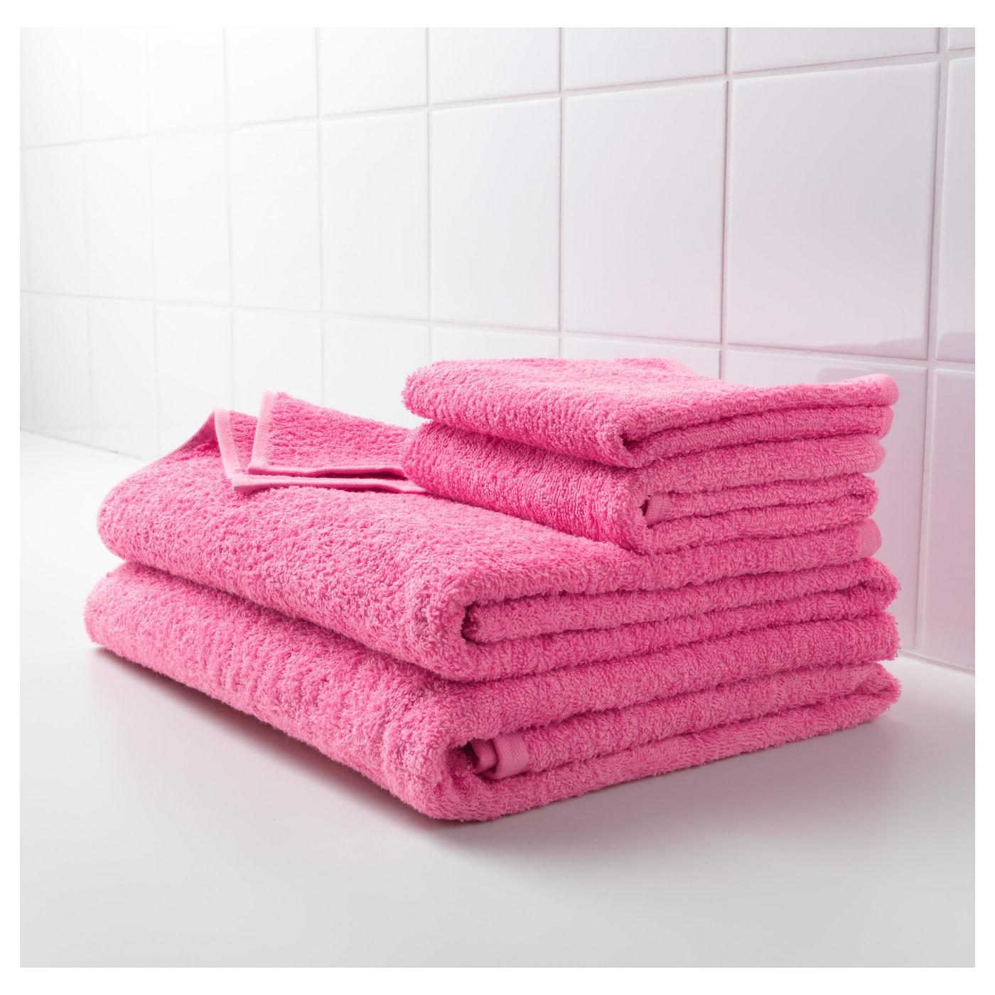 h ren bath towel pink 70x140 cm ikea. Black Bedroom Furniture Sets. Home Design Ideas