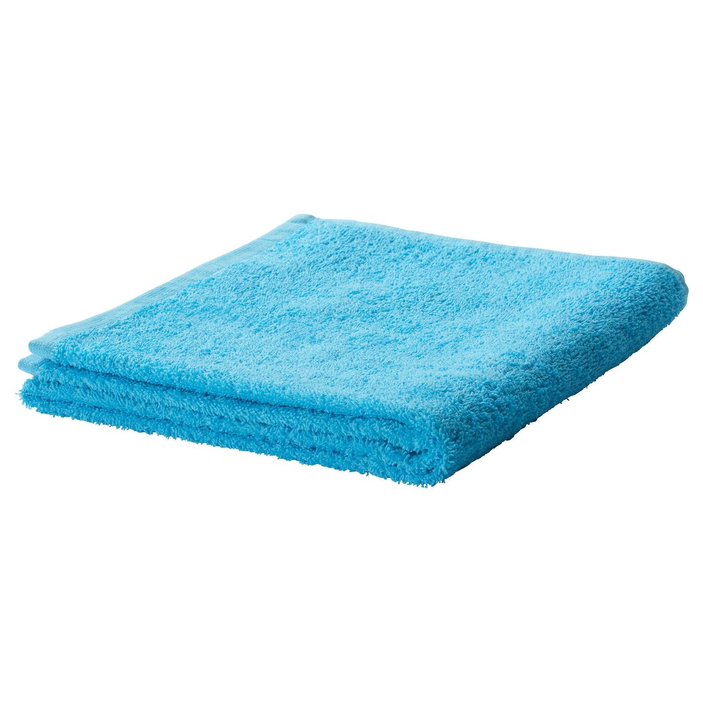 Hand Towel: HÄREN Hand Towel Turquoise 50x100 Cm