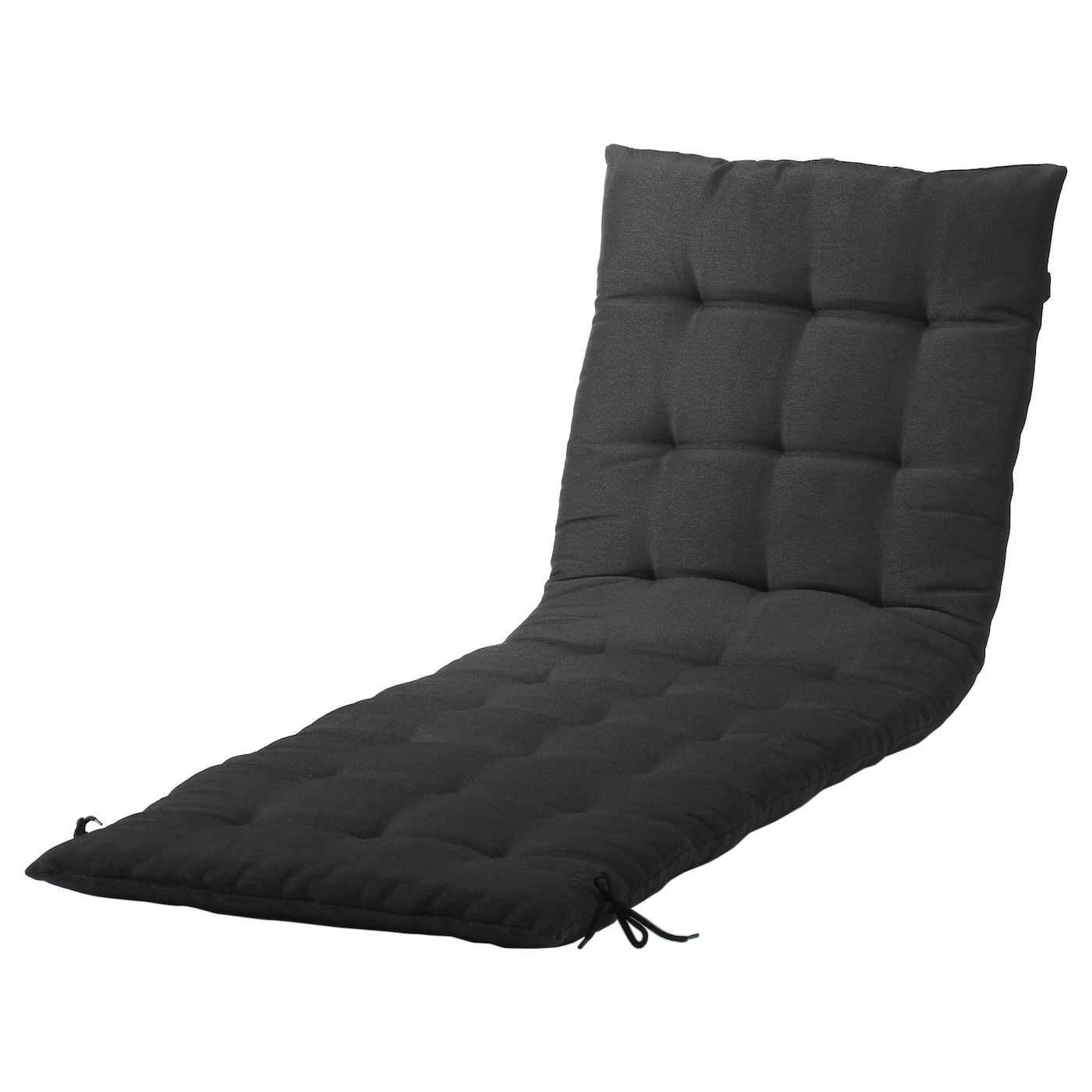 Pplar sun lounger brown stained ikea - Coussin chaise ikea ...