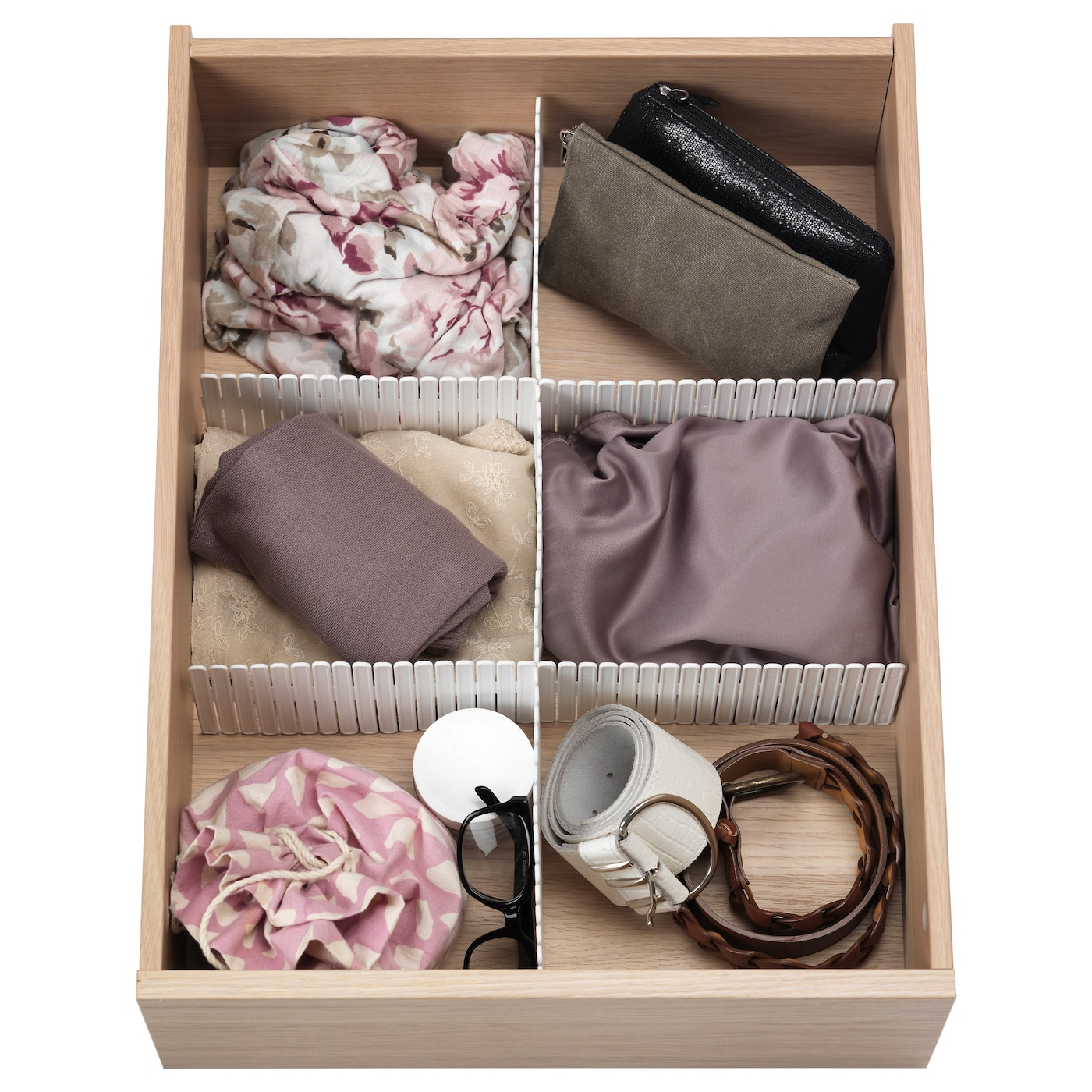Ikea HÖfta Divider For Drawer If You Want More Compartments Just Add Dividers