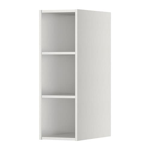 h rda open cabinet stainless steel effect 20x37x60 cm ikea. Black Bedroom Furniture Sets. Home Design Ideas