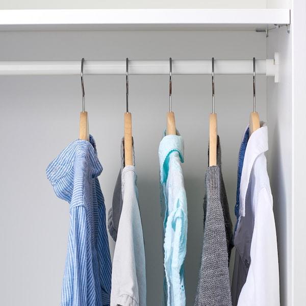 HÄNGA children's coat-hanger natural 5 pack
