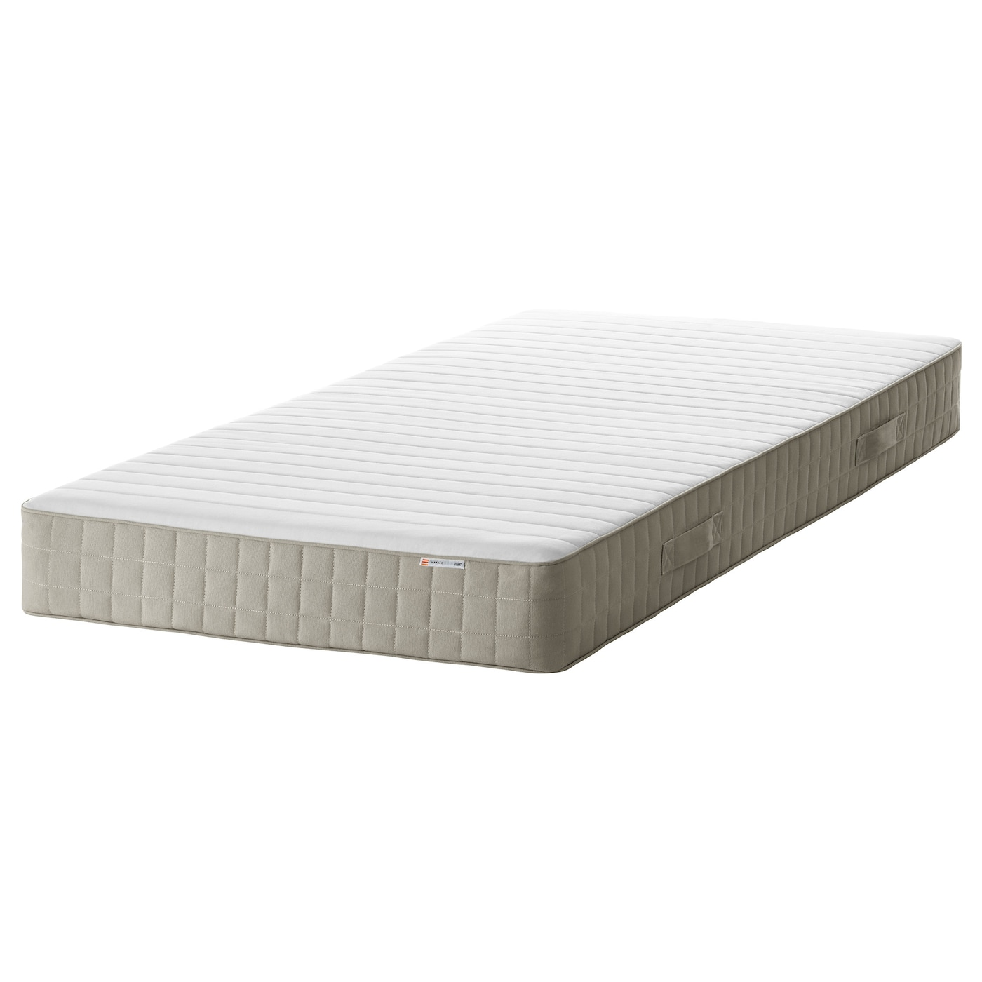 Hafslo sprung mattress firm beige standard single ikea - Colchon sultan ...