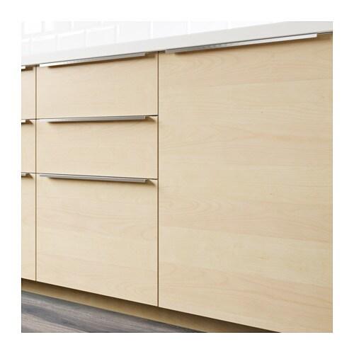 Kitchen Cabinet Veneer: HAGANÄS Drawer Front Birch Veneer 60x40 Cm