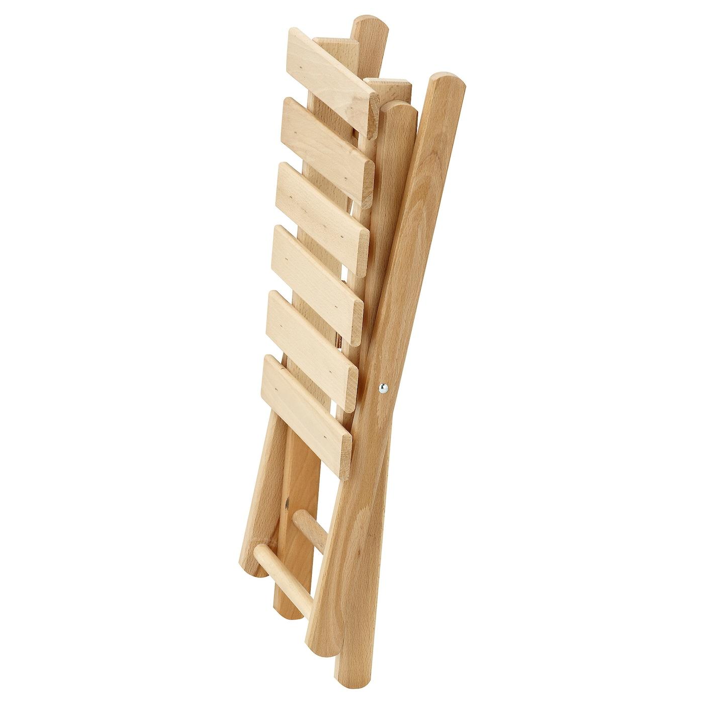 Bedroom Benches Ikea Step Stool Folding: HALLFRED Stool, Foldable Beech