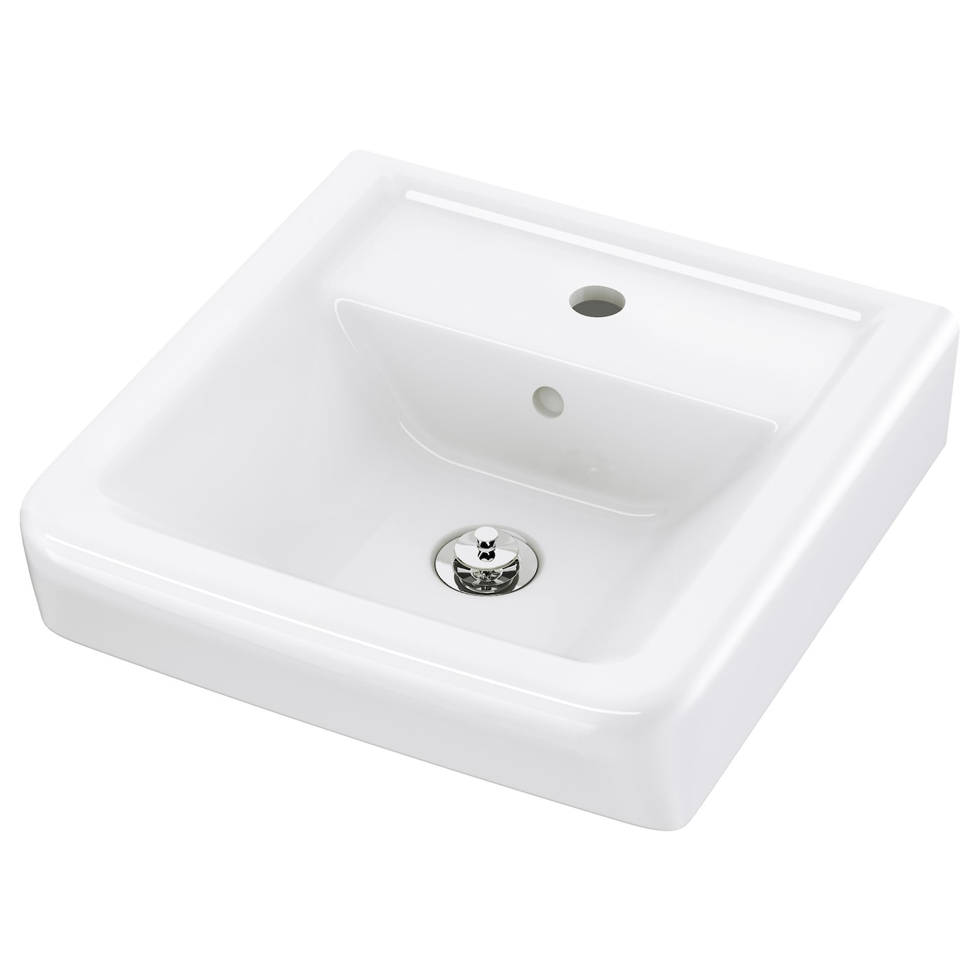 Bathroom sinks wash basins ikea for Lavabo noir salle de bain