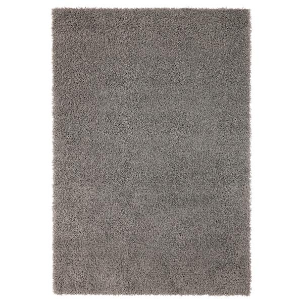 Hampen Grey Rug High Pile 133x195 Cm