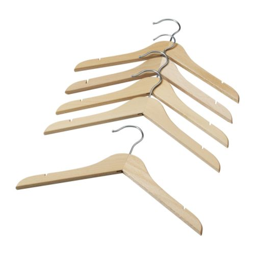 HÄNGA Children's coat-hanger IKEA Made of solid wood, which is a hardwearing and warm natural material.