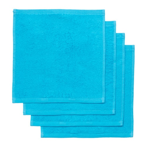 HÄREN Washcloth IKEA A terry towel in medium thickness that is soft and highly absorbent (weight 400 g/m²).