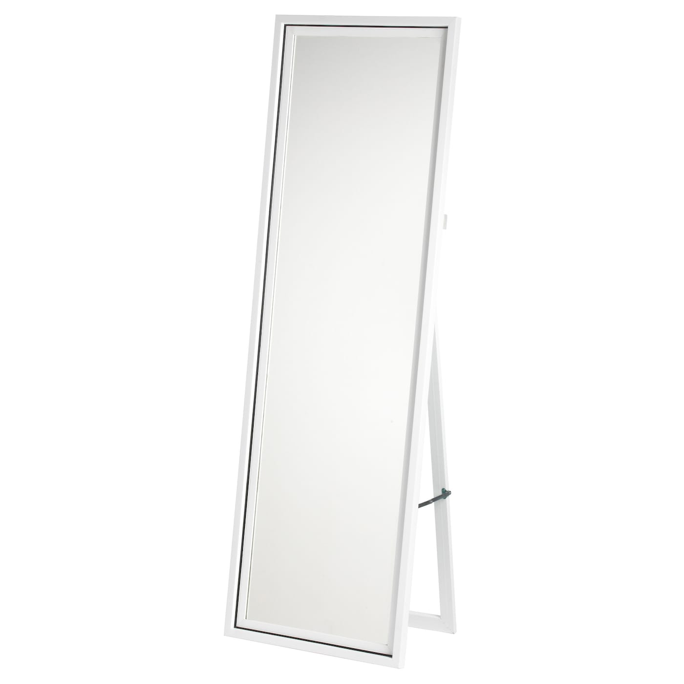 Harran standing mirror white white 49x149 cm ikea for White long standing mirror
