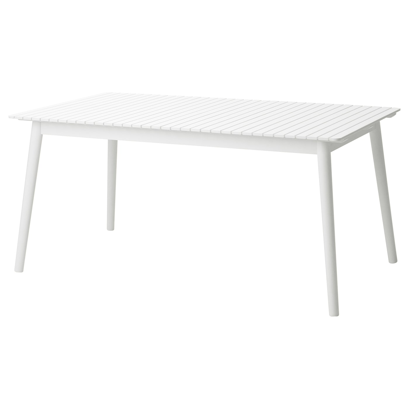 IKEA HATTHOLMEN extendable table, outdoor 1 extension leaf included.