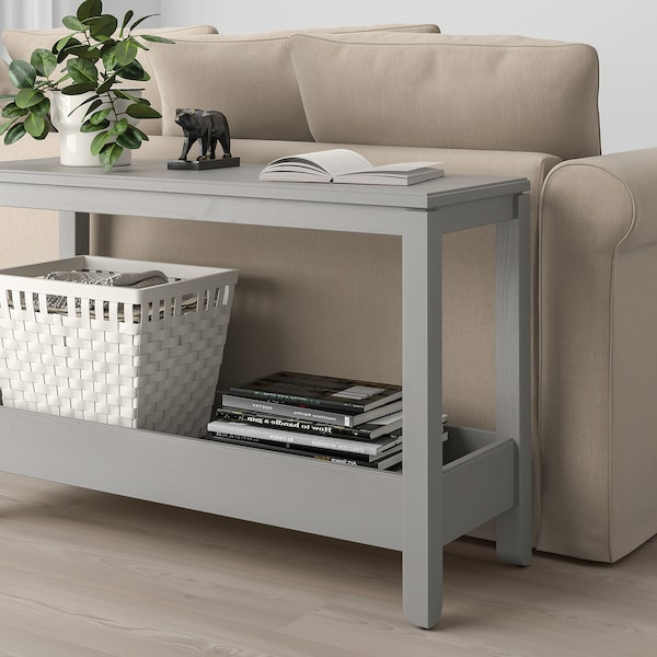 Havsta Grey Console Table 100x35x63