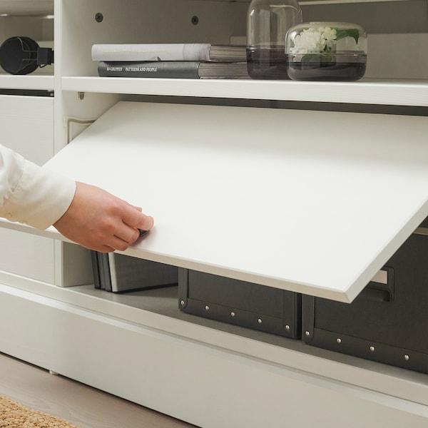 HAVSTA TV storage combination/glass doors white 322 cm 47 cm 212 cm 23 kg