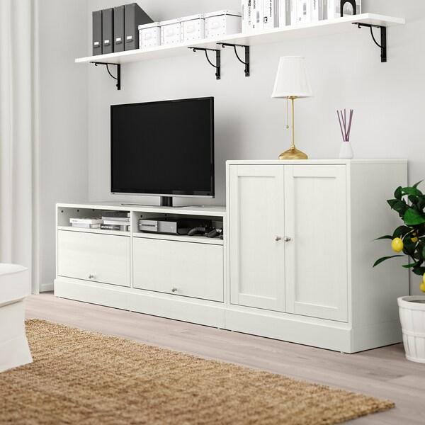 HAVSTA TV storage combination white 241 cm 47 cm 89 cm 31 kg