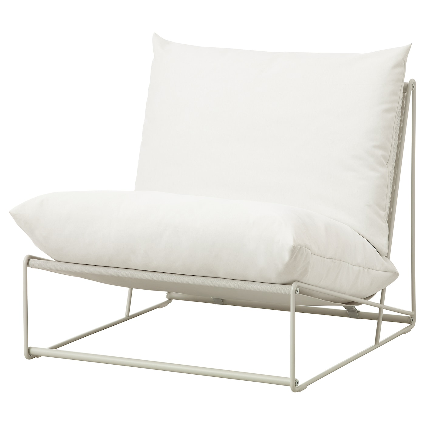 Havsten Beige Easy Chair In Outdoor Ikea