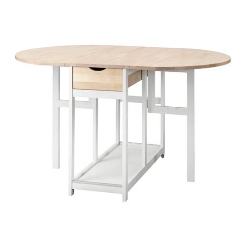 Hedesunda drop leaf table ikea - Round drop leaf table ikea ...