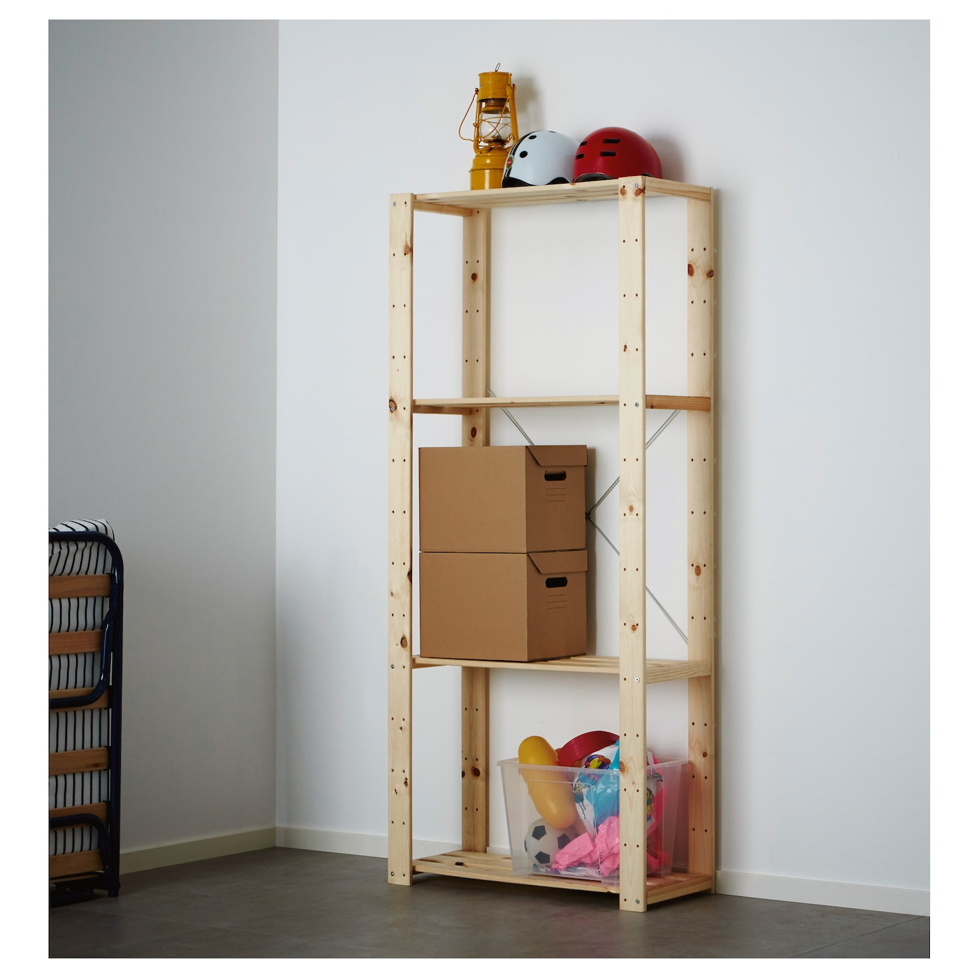 Ikea hejne  HEJNE 1 section Softwood 78x31x171 cm - IKEA