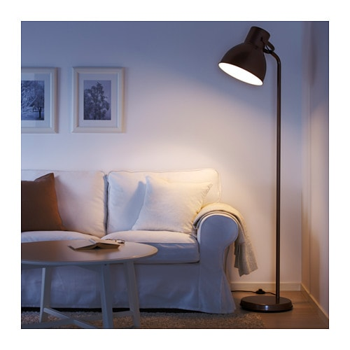 hektar floor lamp bronze colour ikea. Black Bedroom Furniture Sets. Home Design Ideas