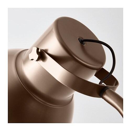 Freistehende Garderobe Ikea ~ Floor lamp HEKTAR Bronze colour
