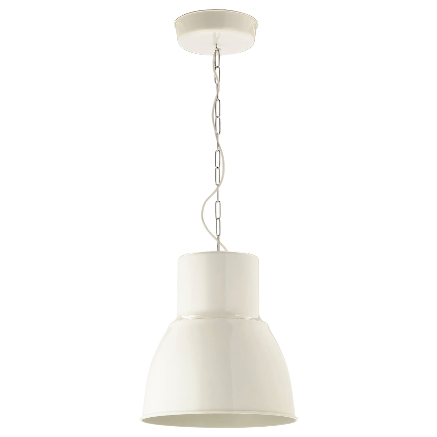 hektar pendant lamp white 38 cm ikea. Black Bedroom Furniture Sets. Home Design Ideas