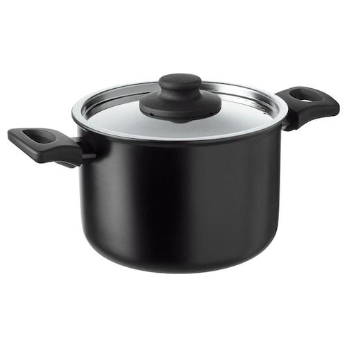 IKEA HEMLAGAD Pot with lid