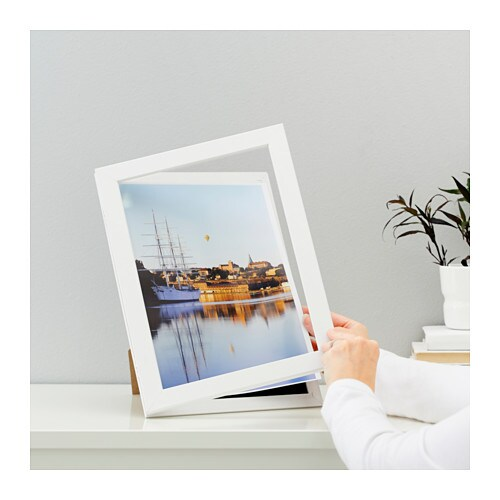 hemmingsbo front opening picture frame white 21x30 cm ikea. Black Bedroom Furniture Sets. Home Design Ideas