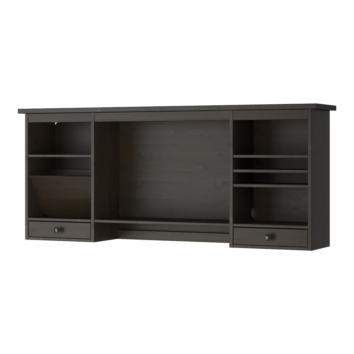 IKEA HEMNES add-on unit desk Solid wood is a durable natural material.