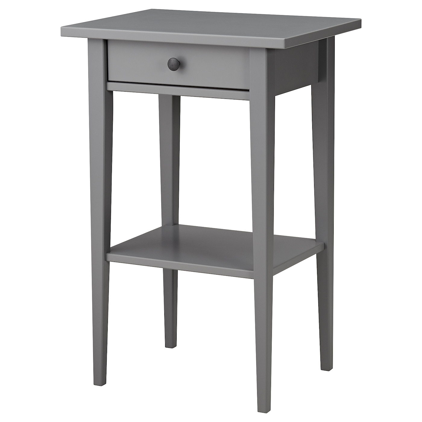 Ikea Hemnes Bedside Table Made Of Solid Wood Which Is A Hardwearing And Warm Natural