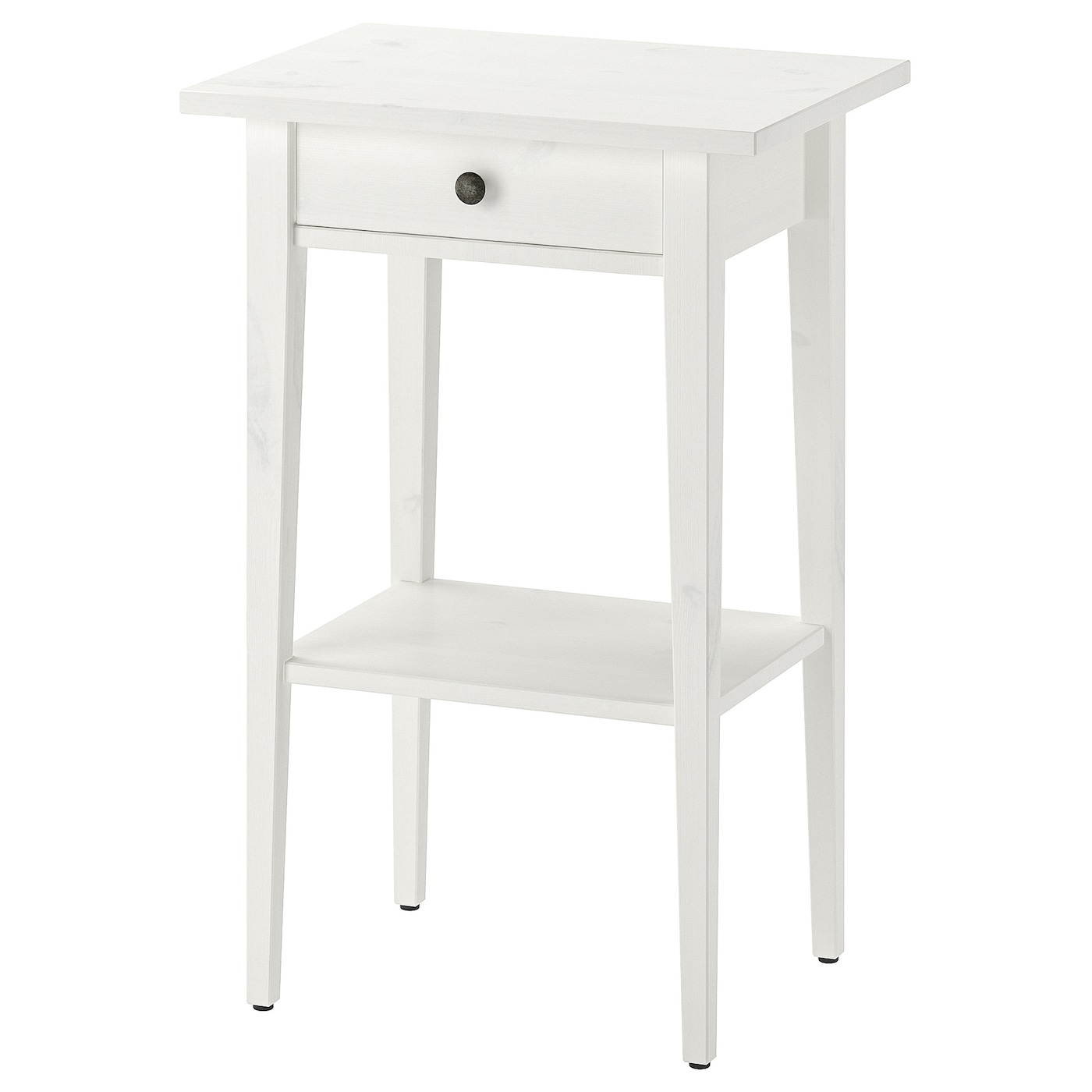 Hemnes White Stain Bedside Table