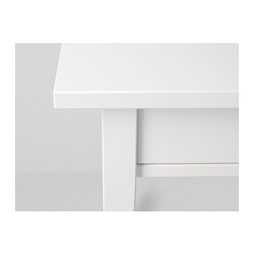 Hemnes Bedside Table: HEMNES Bedside Table White 46x35 Cm