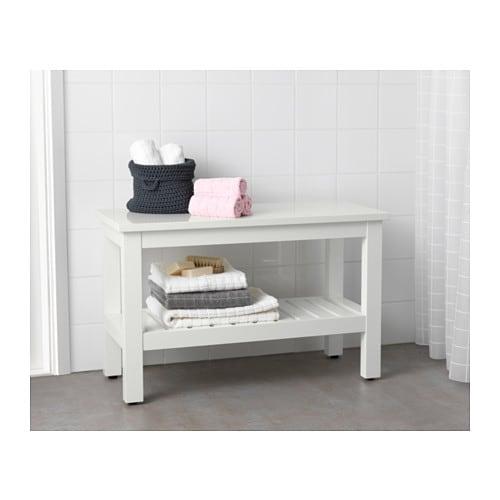 hemnes bench white 83 cm ikea. Black Bedroom Furniture Sets. Home Design Ideas
