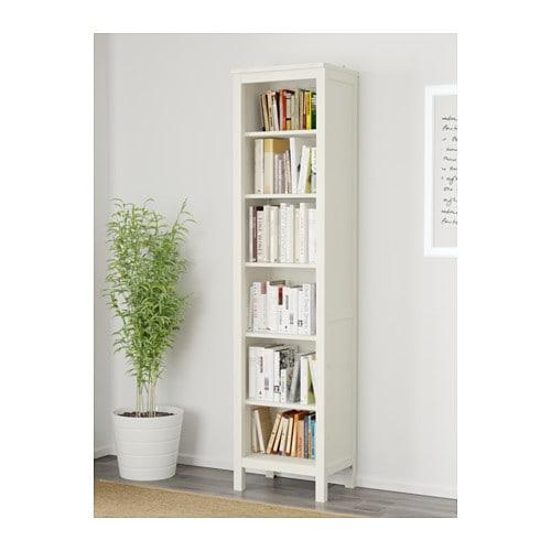 Hemnes bookcase white stain 49x197 cm ikea for Ikea hemnes wohnzimmerserie