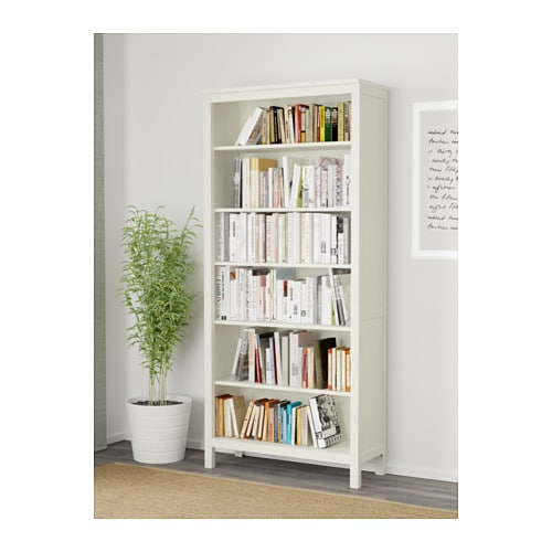 hemnes bookcase white stain 90 x 197 cm ikea. Black Bedroom Furniture Sets. Home Design Ideas