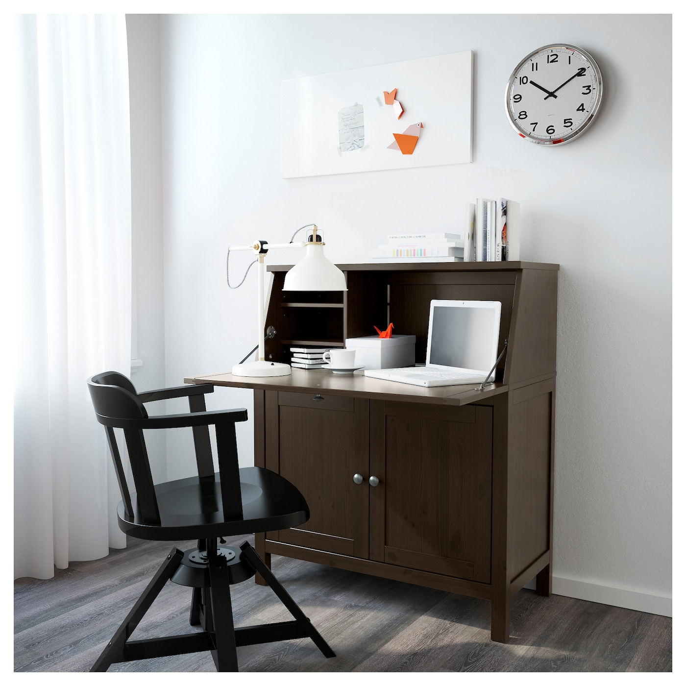 ikea hemnes bureau solid wood is a durable natural material - Ikea Hemnes Bureau