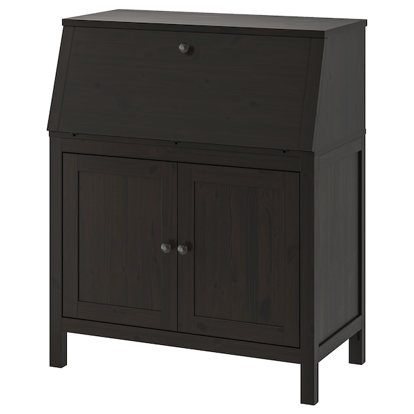 Bureau Hemnes Black Brown