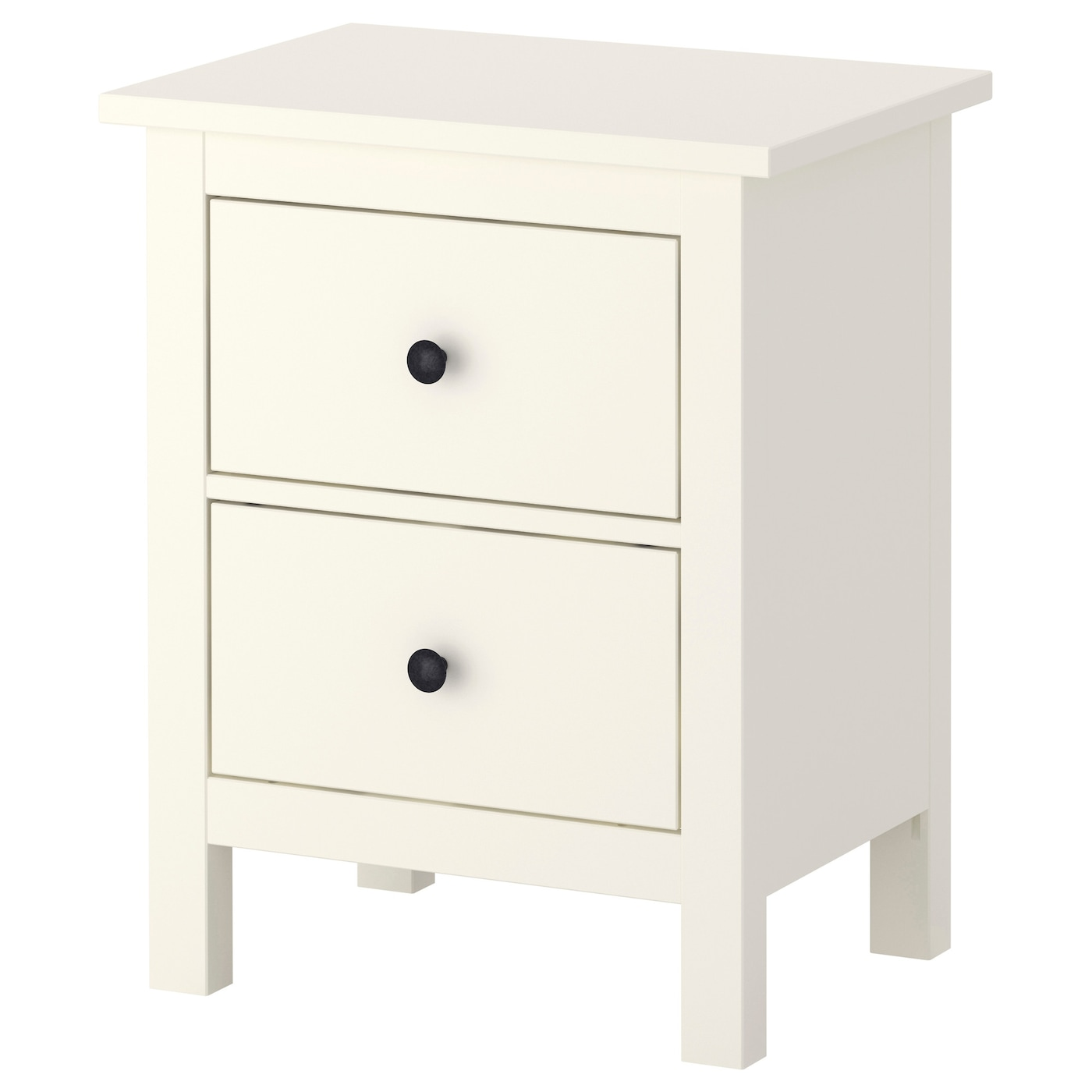 hemnes chest of 2 drawers white 54x66 cm ikea. Black Bedroom Furniture Sets. Home Design Ideas