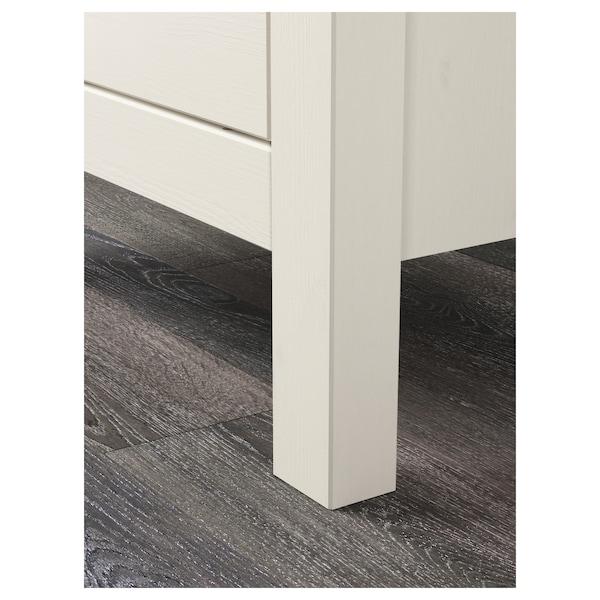 HEMNES chest of 2 drawers white stain 54 cm 38 cm 66 cm 31 cm