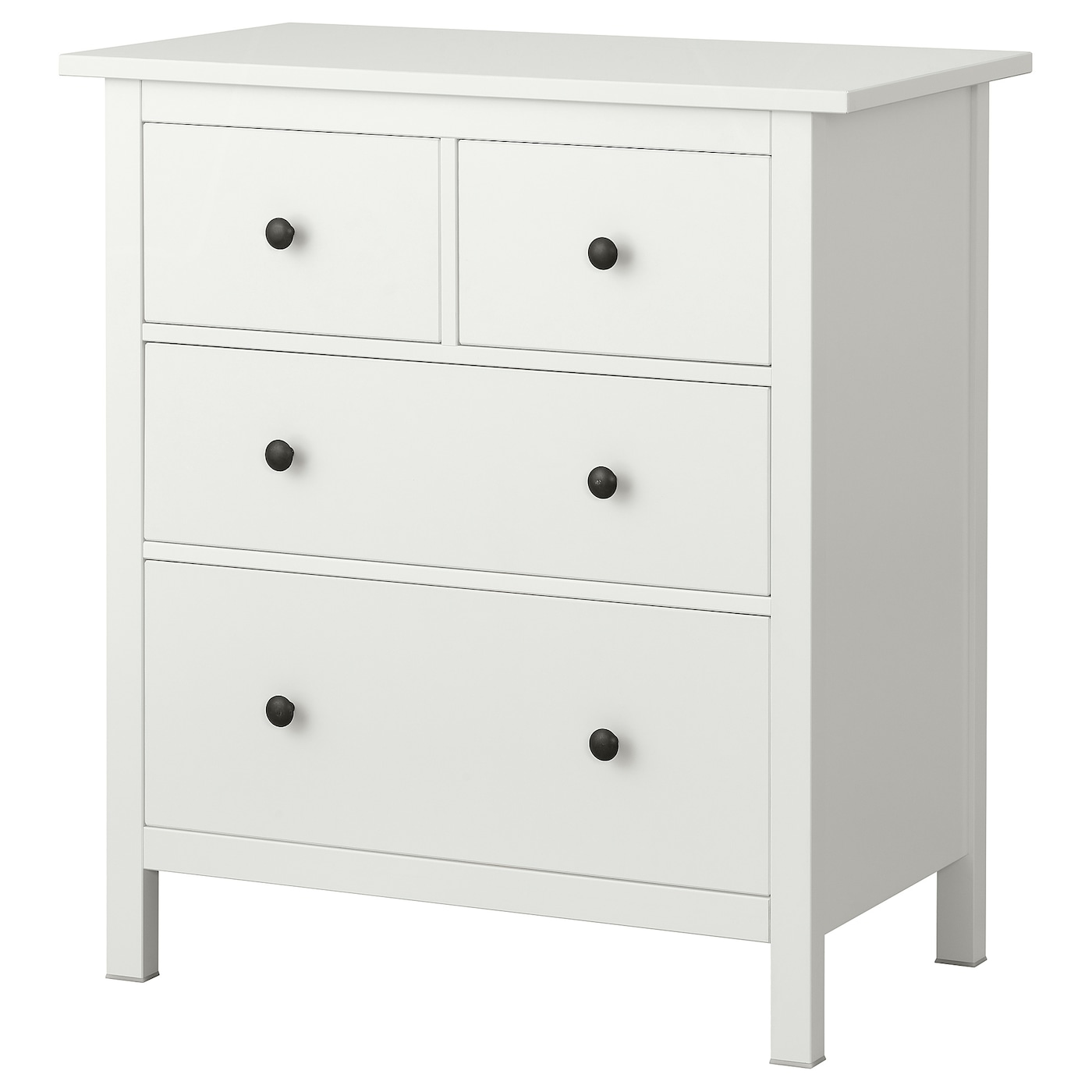 hemnes chest of 4 drawers white ikea. Black Bedroom Furniture Sets. Home Design Ideas
