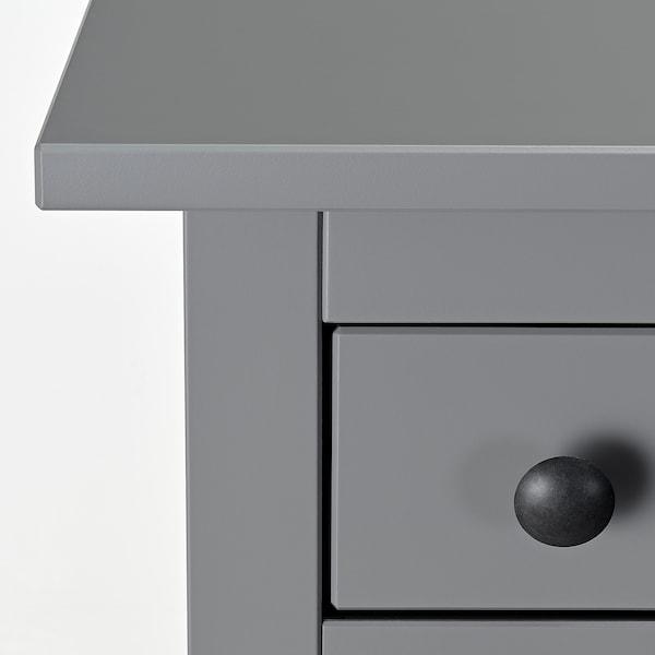 HEMNES Chest of 6 drawers, grey, 108x131 cm