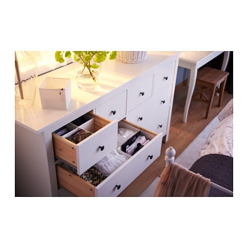 Hemnes chest of 8 drawers white 160x95 cm ikea - Hemnes cassettiera ikea ...