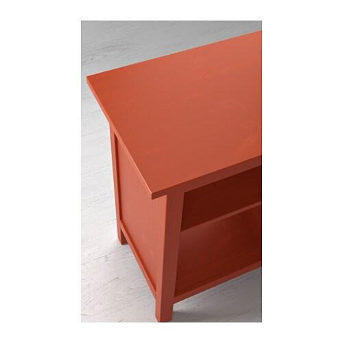 HEMNES Console table Redbrown 157x40 cm - IKEA