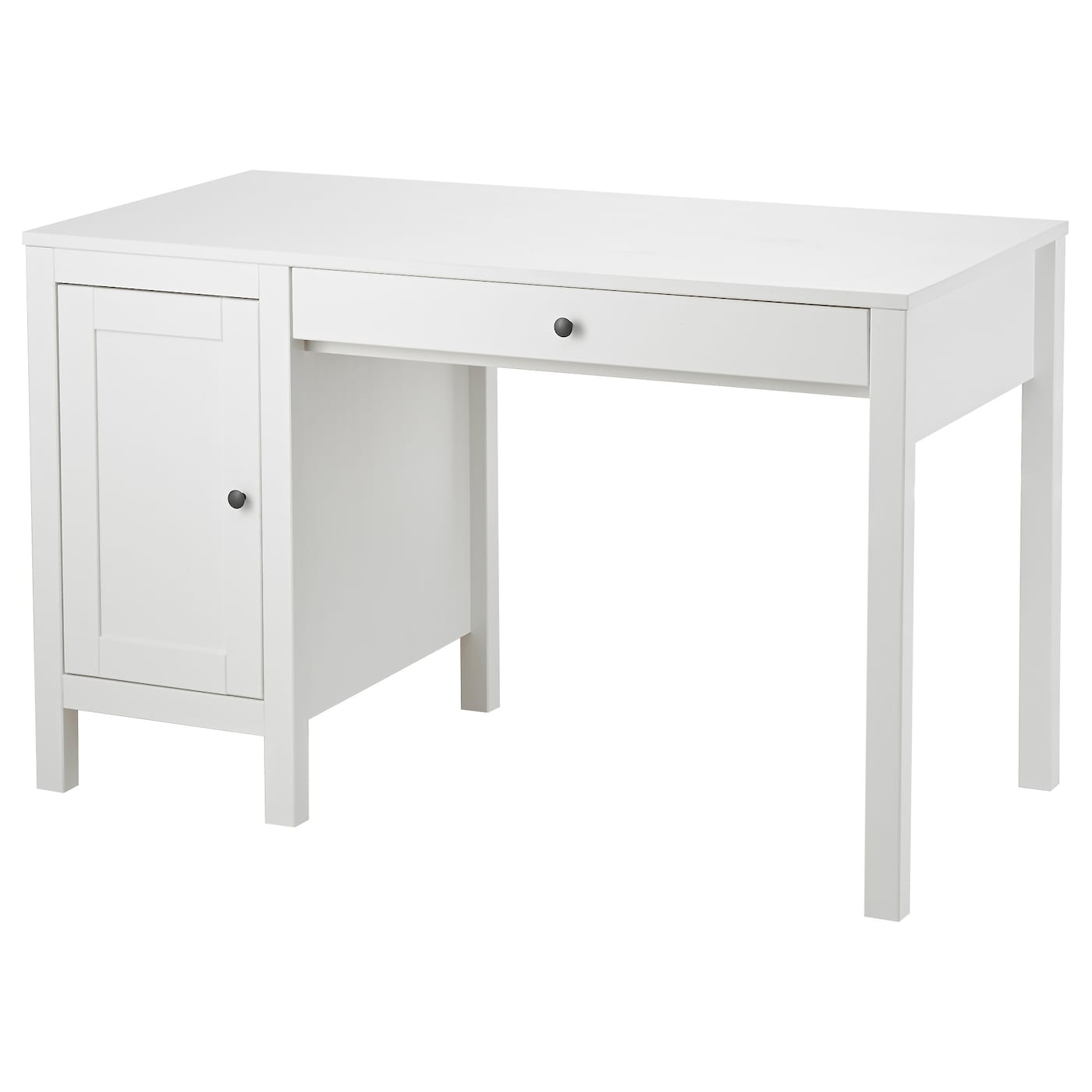 Hemnes desk white stained 120x55 cm ikea for Ikea drawing desk