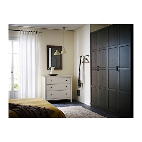 IKEA HEMNES door 10 year guarantee. Read about the terms in the guarantee brochure.