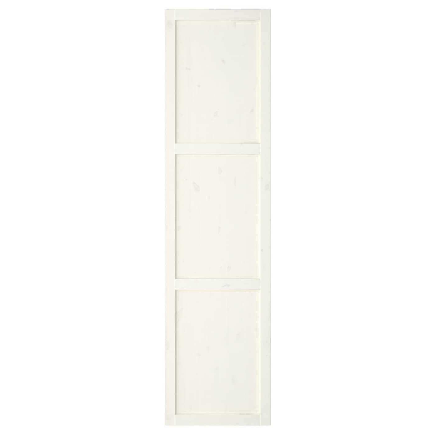 hemnes door with hinges white stain 50x195 cm ikea. Black Bedroom Furniture Sets. Home Design Ideas