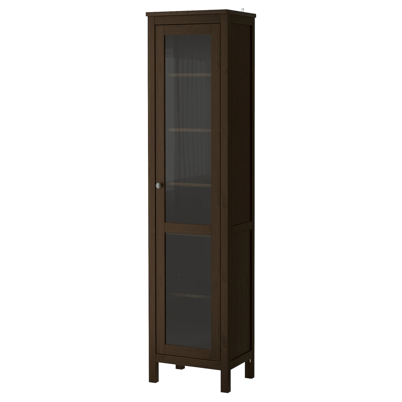 Ikea Poang Chair Leather Cushion ~ IKEA HEMNES glass door cabinet Solid wood has a natural feel 1 fixed