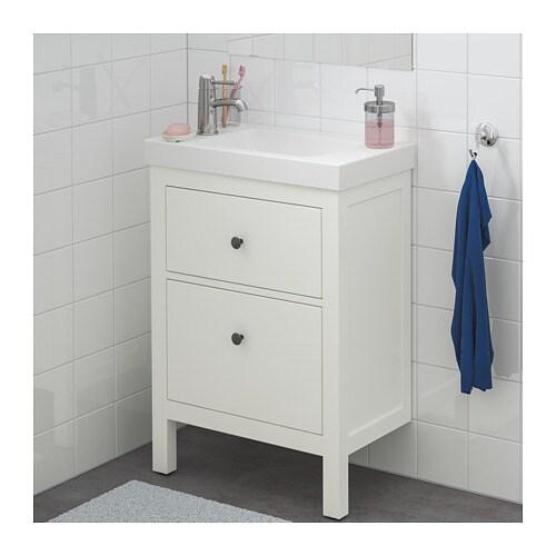IKEA HEMNES/HAGAVIKEN Wash Stand With 2 Drawers