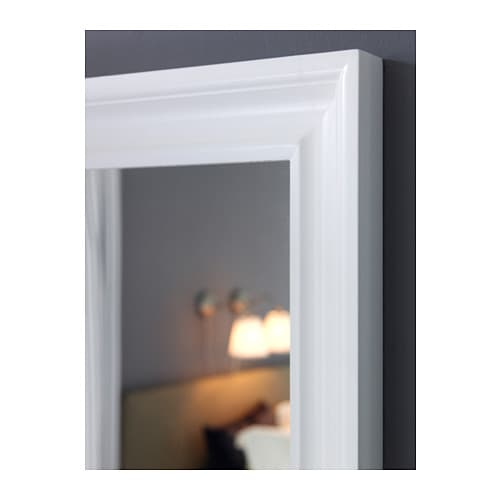 Hemnes mirror white 74x165 cm ikea for Miroir 110 x 90