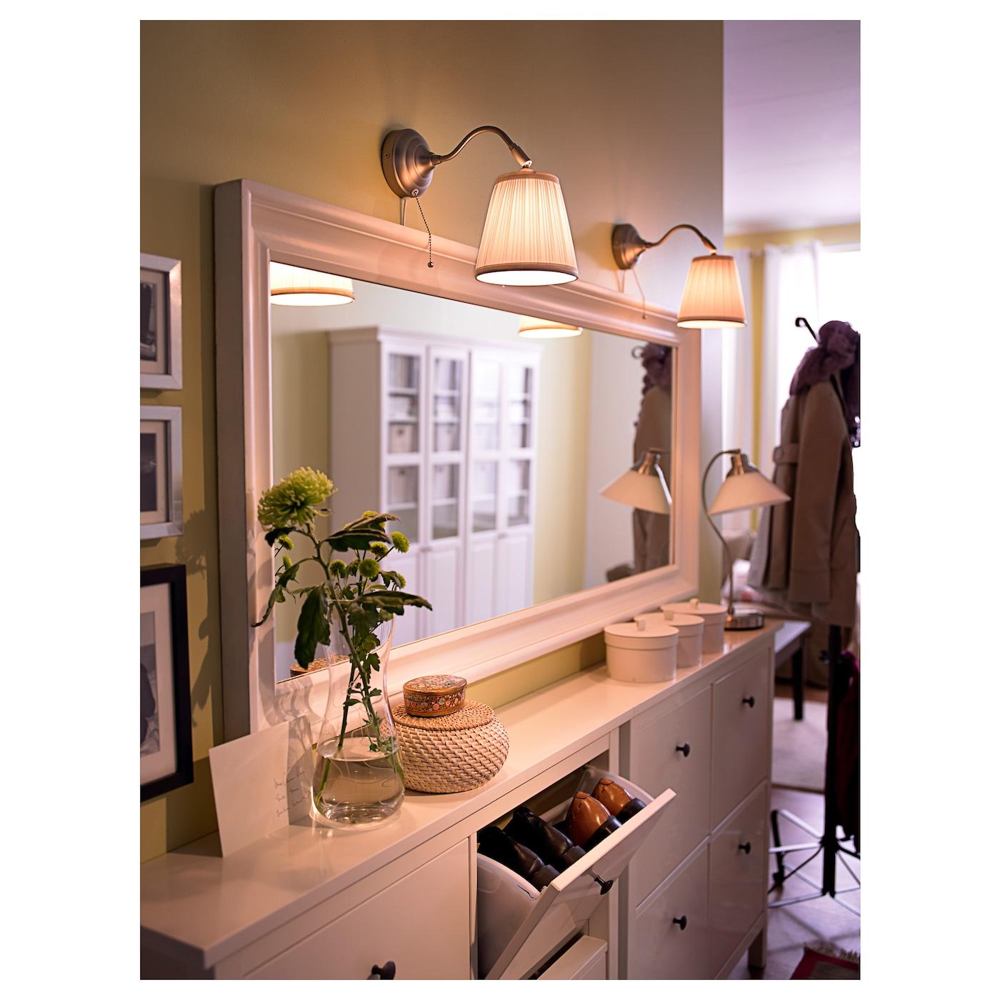 hemnes mirror white 74x165 cm ikea. Black Bedroom Furniture Sets. Home Design Ideas