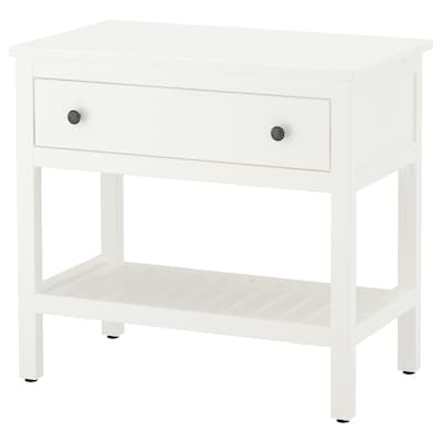 HEMNES Open wash-stand with 1 drawer, white, 82x48x76 cm